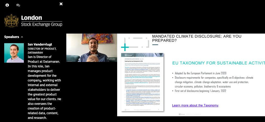 The #EU #taxonomy requires both companies and investors to disclose on 6 #environmental objectives, including #ClimateChange mitigation and adaptation.