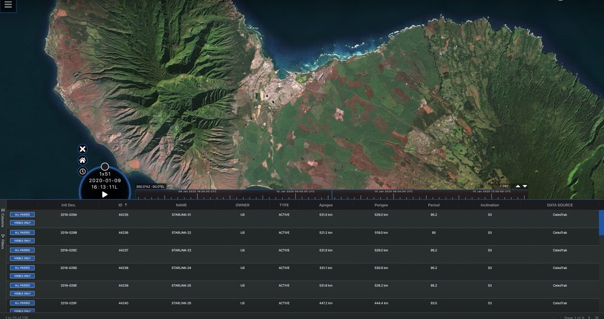 Dr. @TSKelso, a senior research astrodynamicist with AGI, shows users how to set their location in the new pass visualization feature on #CelesTrak https://t.co/4txQwOdIy4 https://t.co/gFhQmkxgCe