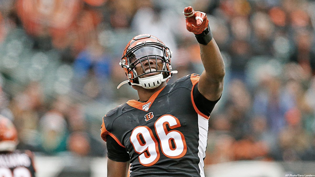 81.5 and counting... @Carlos_Dunlap will have ___ sacks this season? 🤔