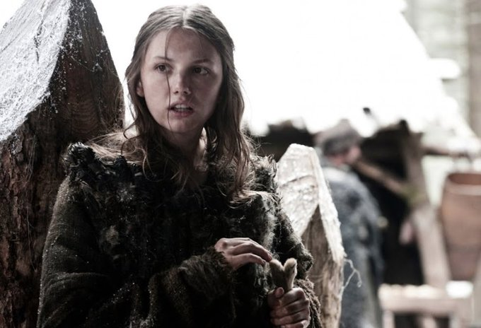 Happy 31st birthday to Hannah Murray, aka Gilly on Game of Thrones!