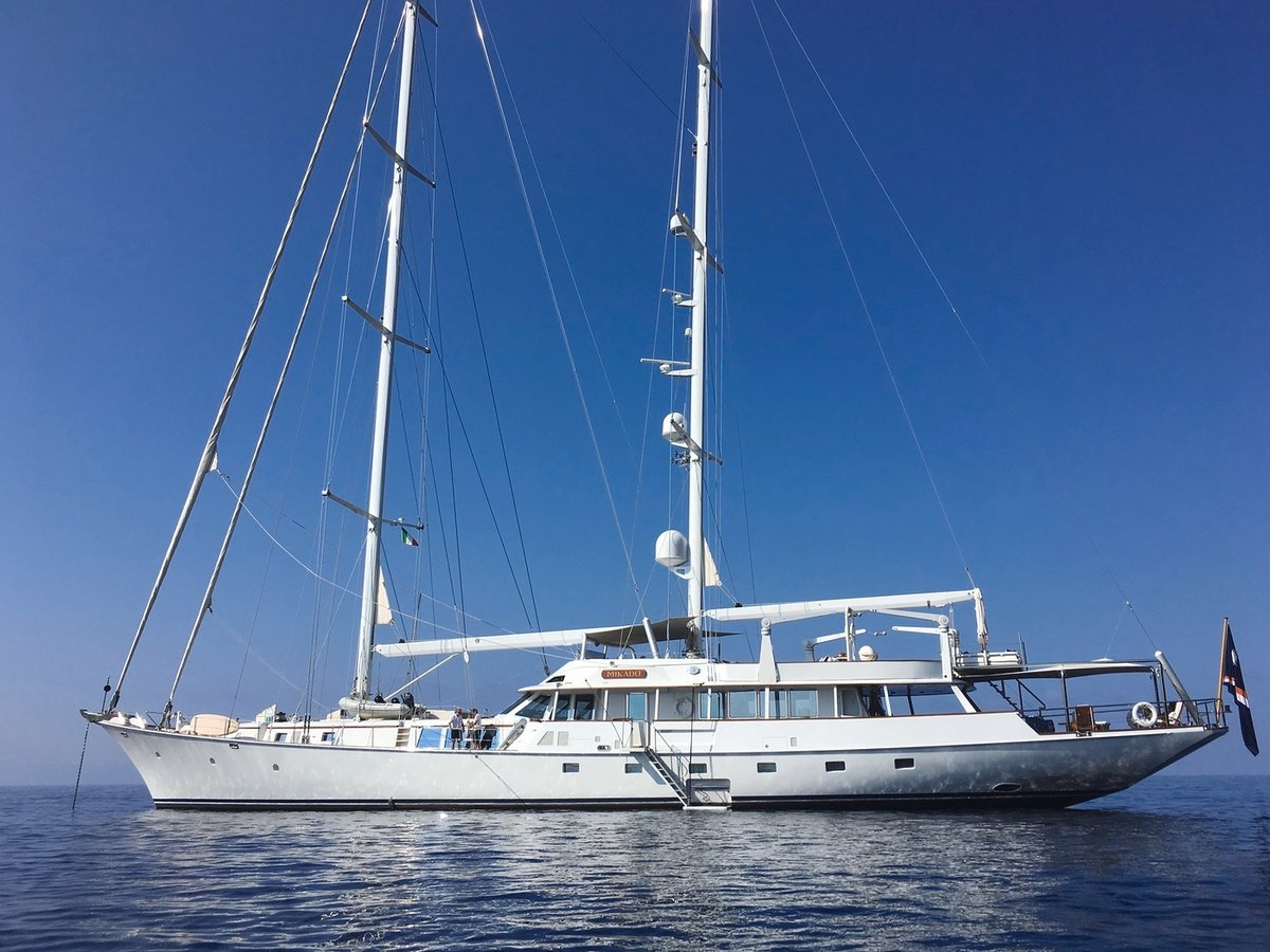 Burgess is delighted to announce its appointment as Central Agent for the sale of the ketch rigged motor sailing yacht MIKADO.  She is currently lying in Palma and available for viewings. https://t.co/zkOrJ14uT7 #sailingyacht #yachtbroker https://t.co/4tvPOrBoGv