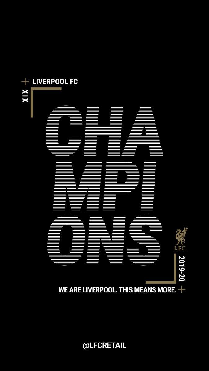Liverpool Fc Retail On Twitter Another Lfc Wallpaper Design Wallpaperwednesday Champions