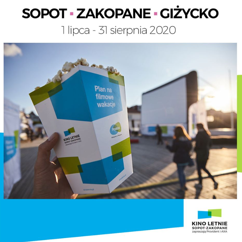 The 13th Summer Cinema Festival starts in Poland today. For the next 62 days popular movies will be shown in open-air cinemas in 3 holiday resorts. The sponsors are @Provident_PL and @AXAPolska who while providing entertainment are committed to ensure the safety of their audience https://t.co/kEpllcBRvE