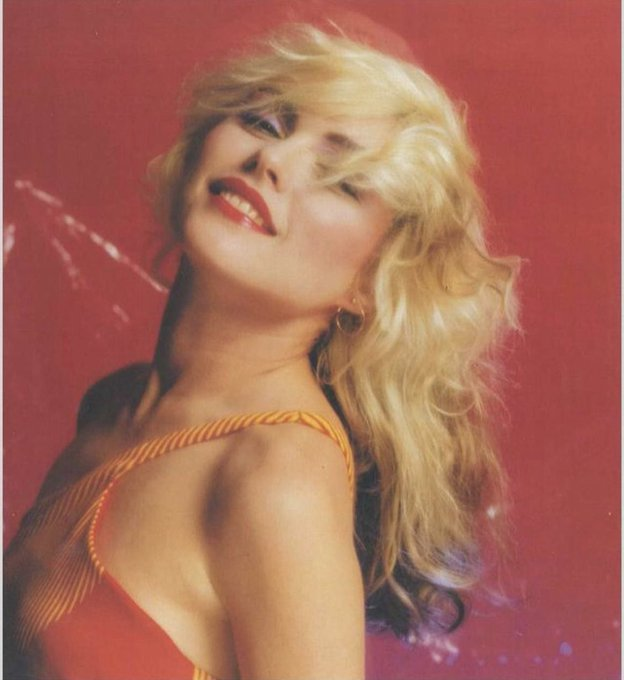 13 year old me had picture 1 on his wall  50 year old me has picture 2.  Happy 75th birthday to  Deborah Harry  x