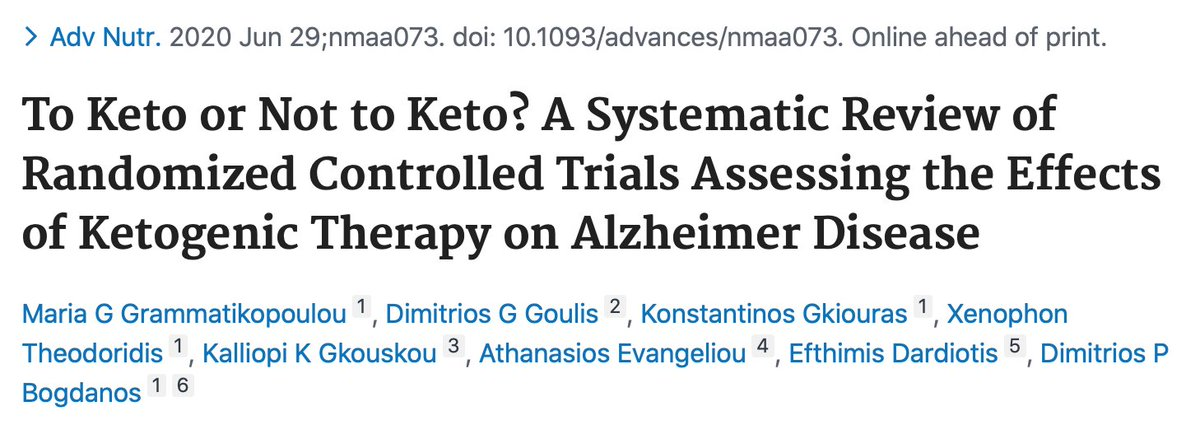 If you've a hungry brain (e.g., #alzheimers), let it eat #ketones. bit.ly/3dRpxFF