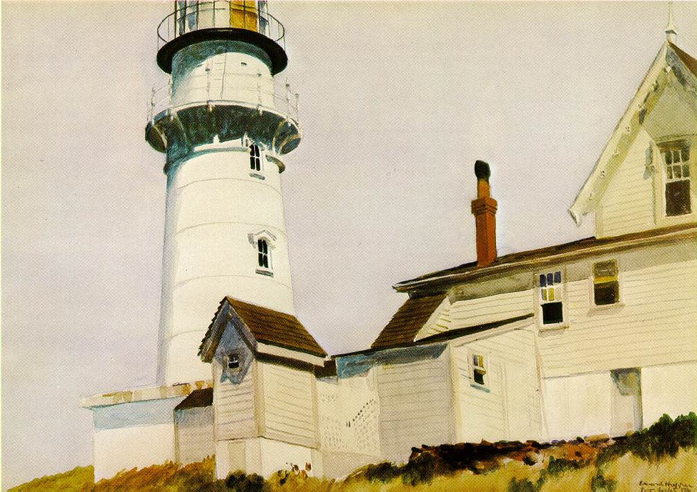 Light at Two lights, 1927 #newrealism #edwardhopper<br>http://pic.twitter.com/hysrsuoJg9