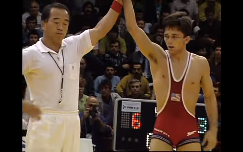 Match of the Day: Zeke Jones defeats Valentin Jordanov in the 1991 World finals 📽️: go.teamusa.org/2NIliS4