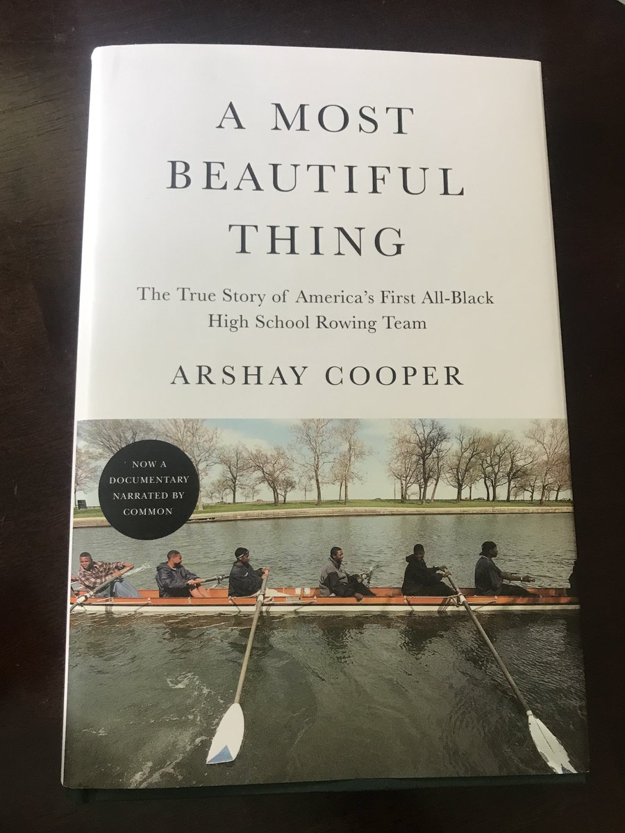 Yeesss. Have been waiting for this -- so was stoked to see @arshaycooper 's new book in the mail yesterday. Already loving it and excited for the @AMBTfilm film too: https://t.co/Y2bXZ5Vi14 https://t.co/yxgvcImtRq