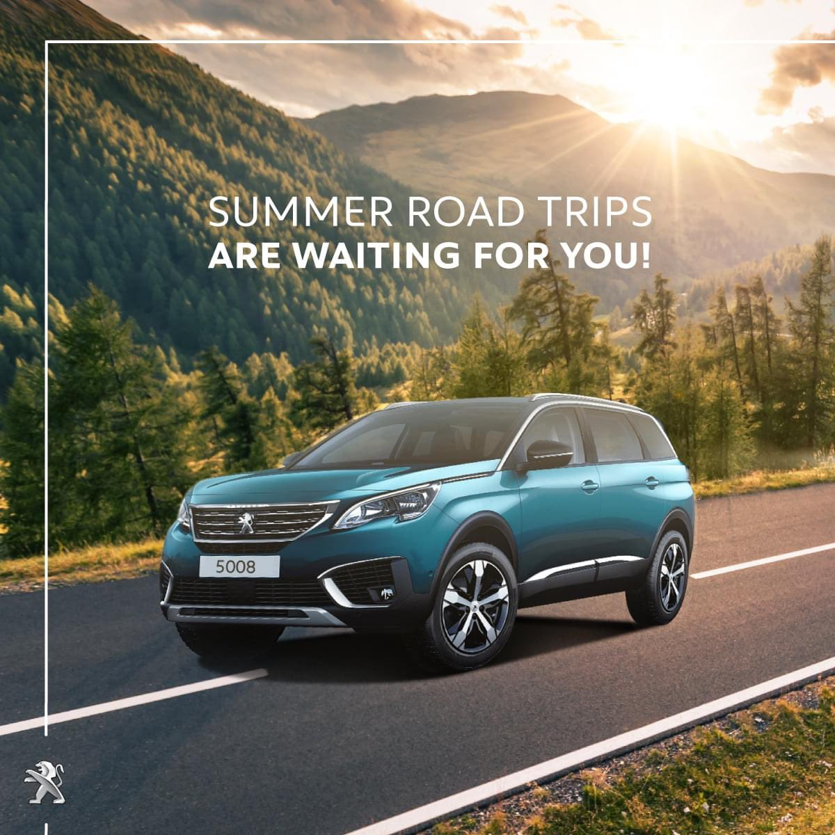 Rediscover summer with Peugeot 5008 SUV! #Peugeot #Peugeot5008pic.twitter.com/DWK9D4IU81