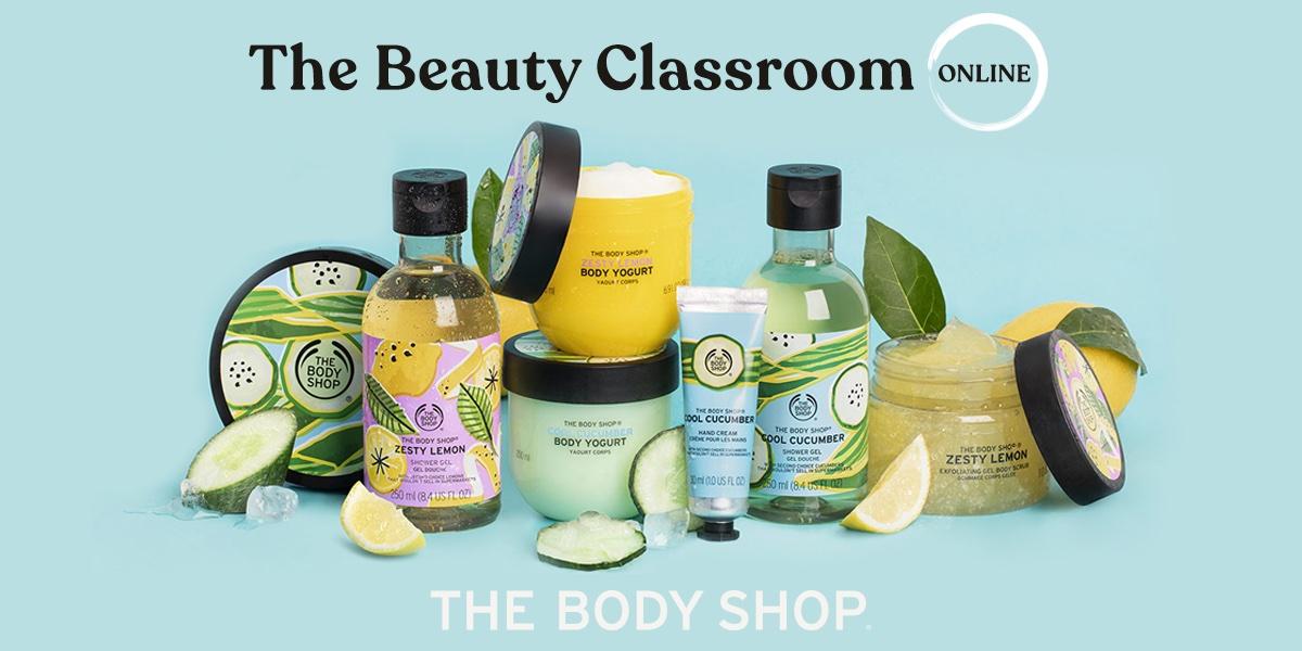 ¡Regresa The Beauty Classroom! Ahora online para que puedas descubrir todas las novedades desde casa. 🏡  9 de julio taller sobre novedades de verano 🍋🥒🥥 https://t.co/HCKbIa2unG  ¡Atrévete te dejará helado! 🥶 💄 15% DTO. durante el taller* https://t.co/0E0MXGxGyx