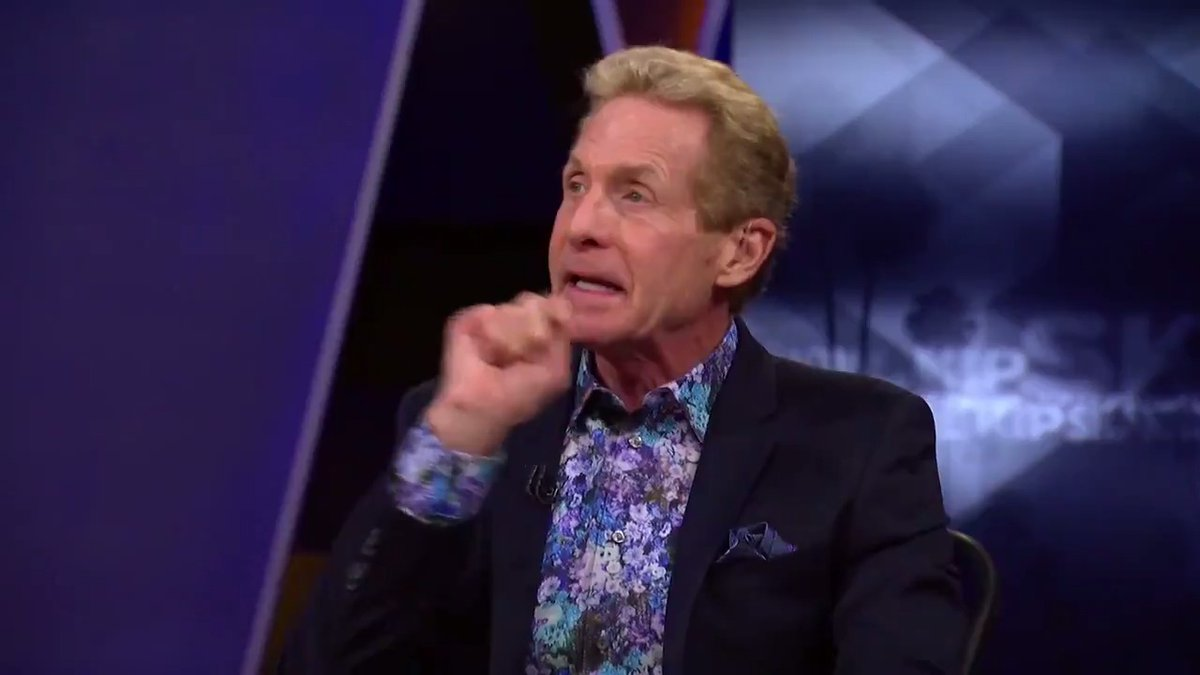 """.@RealSkipBayless reacts to Randy Moss' comments about Cam having more fun with the Pats offense:   """"The definition of 'fun' is winning 6 Super Bowls with 6 game winning, edge-of-your-seat drives. Tom Brady has been the 'funnest' QB in the history of football."""" https://t.co/CFxJ4mUfFy"""