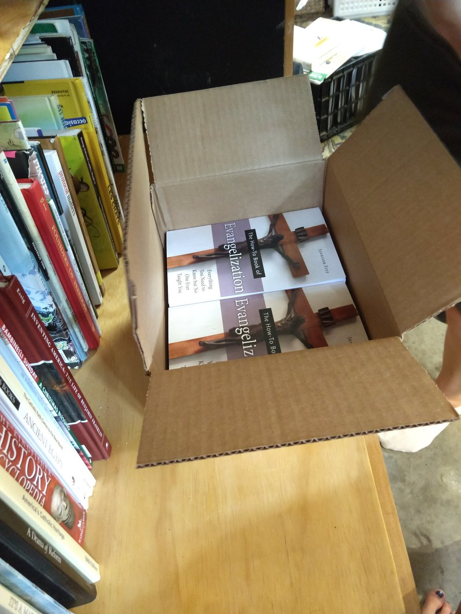 My box of author copies of my new book!!