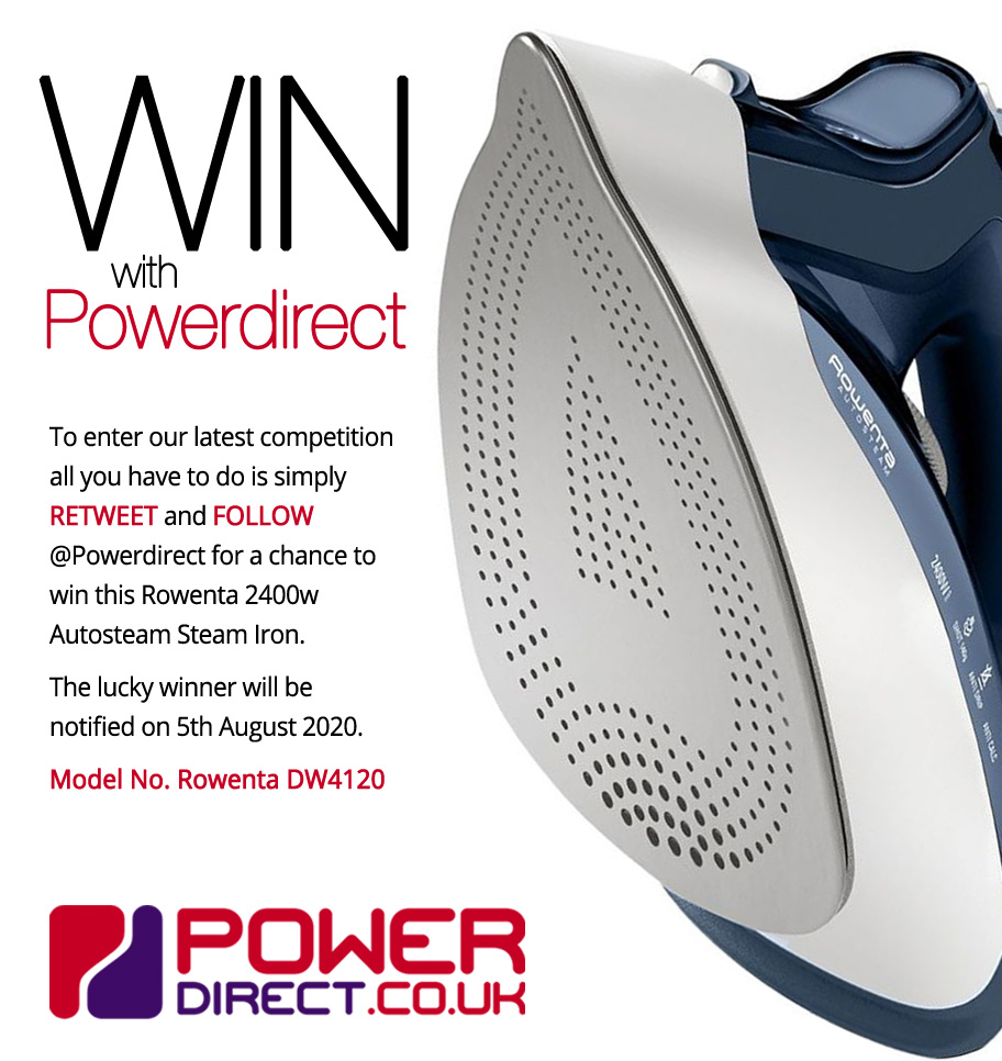 #Free to Enter @PowerDirectUK #Competition #Giveaway... Simply #RT and #Follow for a chance to #Win a Rowenta 2400w Autosteam Steam Iron. #WinItWednesday #WednesdayMotivation <br>http://pic.twitter.com/6a6TrwZTEz