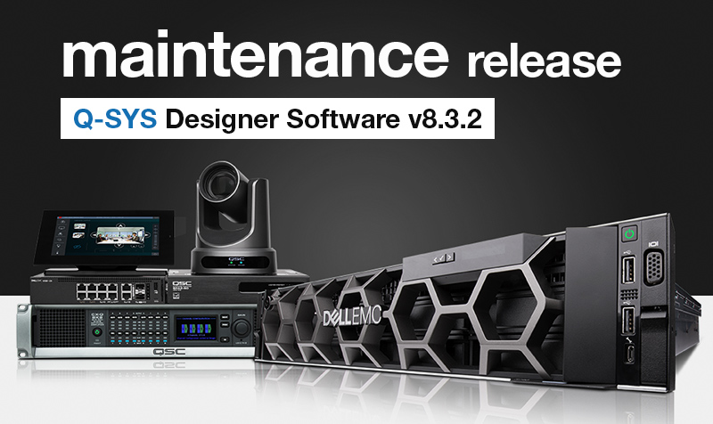 New updates for @QSC Designer - Now including software-based Dante!   More info here -->> https://t.co/dkmszDRlNH  #QSC #QSYS #proaudio #prosound https://t.co/LcgFDAL95O