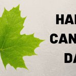 Image for the Tweet beginning: Happy Canada Day!
