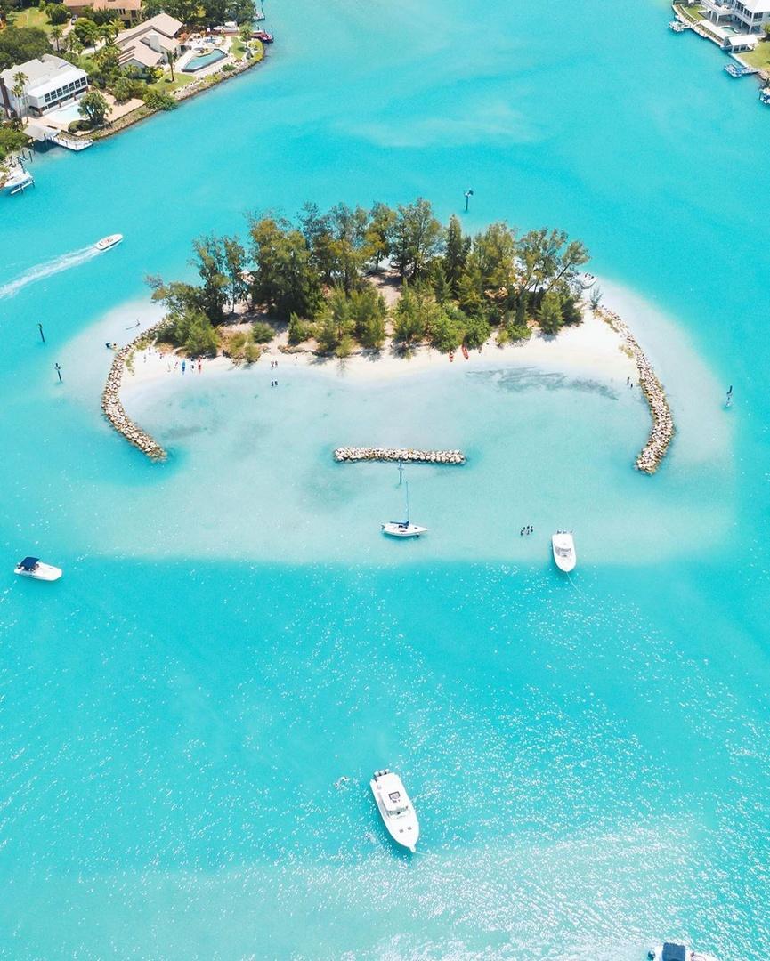 Life goal: own an island. #LoveFL 📷 IG: chasingthedronelife 📍: Sarasota