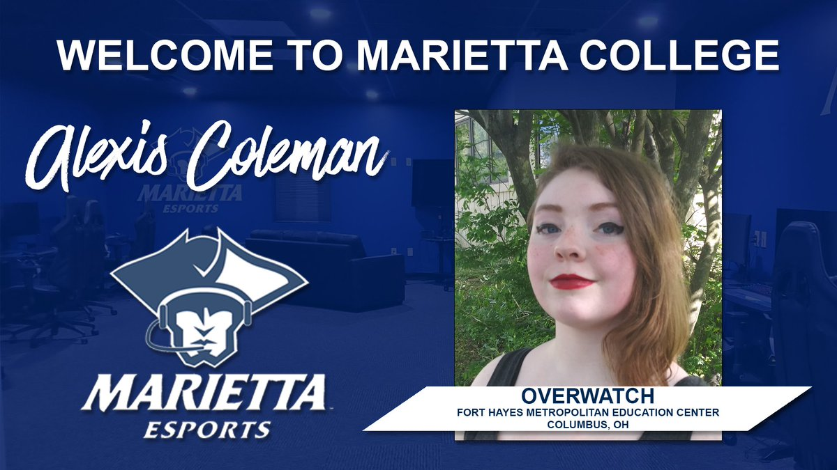 During the month of July, we'd like to welcome our fall 2020 esports recruits. Our first recruit is Alexis Coleman, who will be playing support for our Overwtach team. Please join us in welcoming Alexis. #PioNation #BringForthAPioneer https://t.co/ACuRCnl9pS