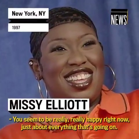 Today is @MissyElliotts birthday! Back in 1997, she talked to us about how her success has been a dream come true, and feeling blessed doing what she was meant to do. Happy Birthday!