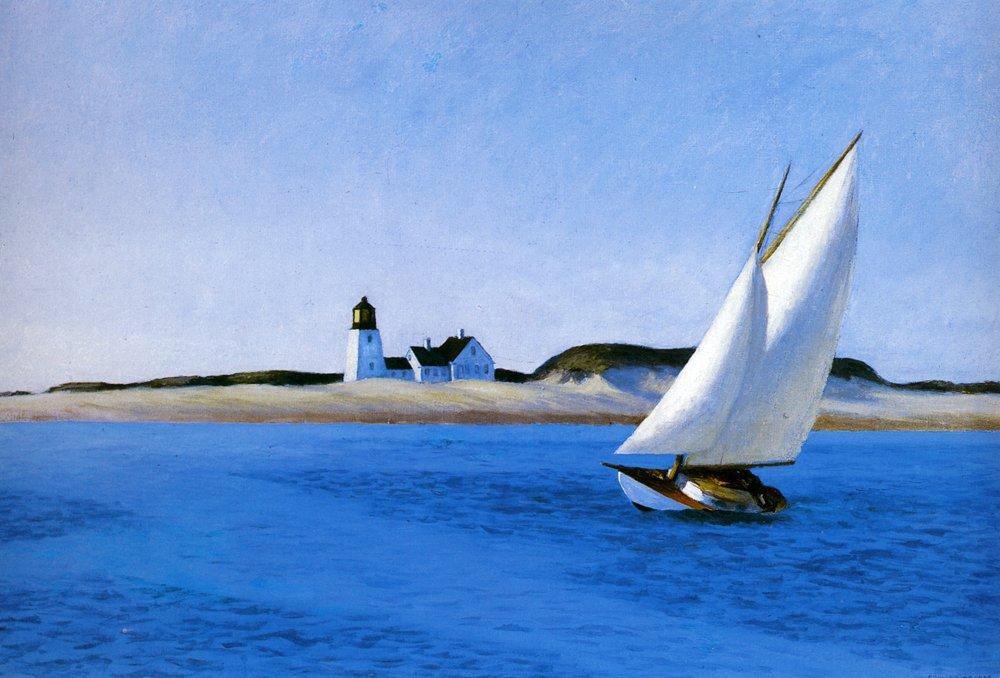 The Long Leg, Edward Hopper, 1930  https://www. wikiart.org/en/edward-hopp er/the-long-leg  …  #newrealism #wikiart<br>http://pic.twitter.com/y5pidg7gVR