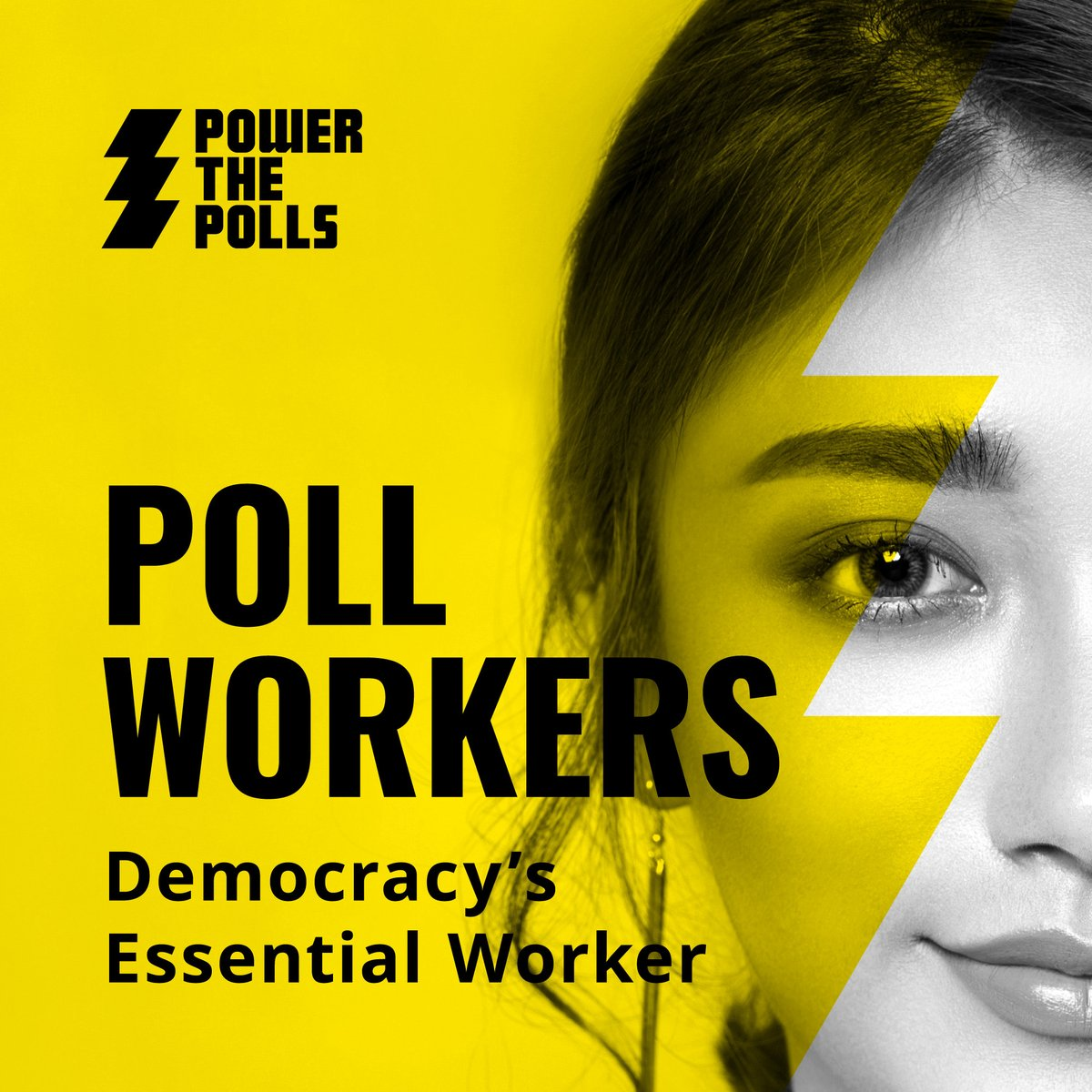 Poll workers. Election volunteers. Election Judges. Lots of names. One purpose. 🗳️ Sign up today to ensure a safe and fair election for all: PowerThePolls.org/?source=AYO