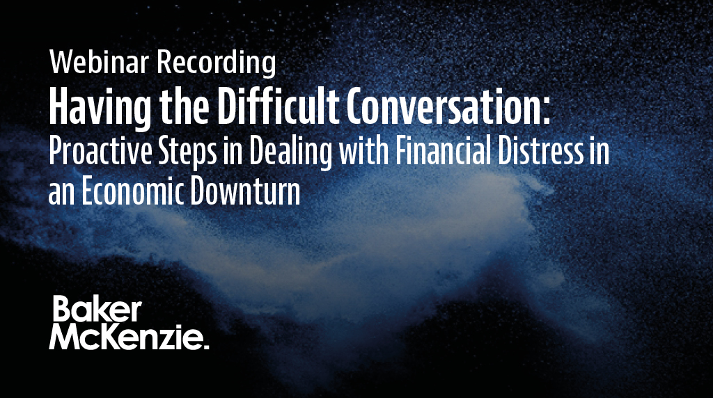 Our lawyers discuss the importance of raising and discussing financially distressing situations, earlier rather than later, and share tools for holding these conversations with your board, leadership team and constituents https://t.co/S1k8zFDUCB https://t.co/aB6RlgJPNA