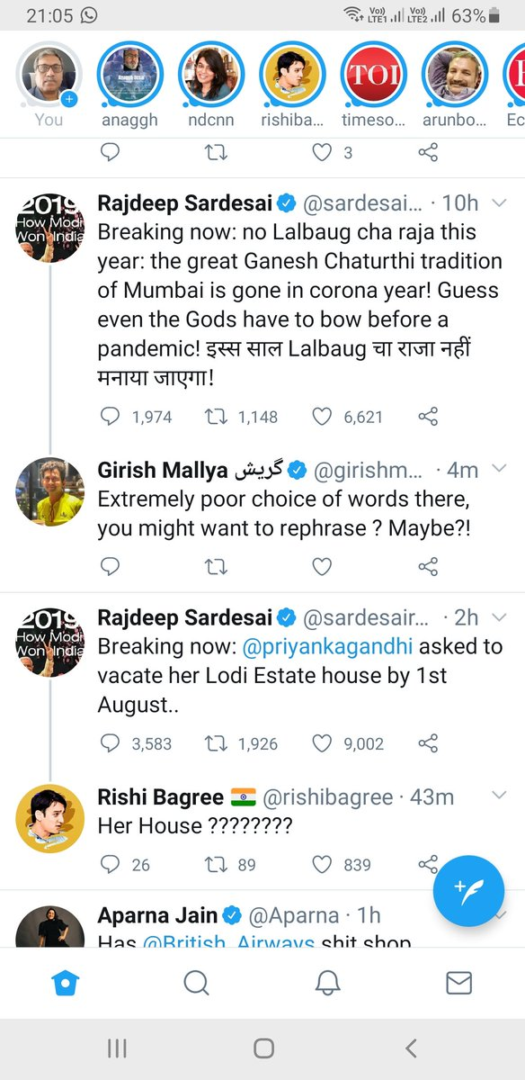 Two tweets by Mr sardesai appeared on my timeline one after the other with readers accusing him for bad usage of grammar and framing of sentences. https://t.co/J8YMmeAWXL
