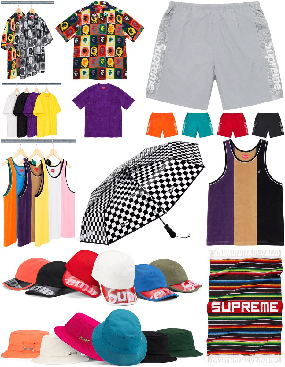 Supreme Week 18 Droplist   Releasing in store and online Thursday, July 2nd.   What are you grabbing this week?