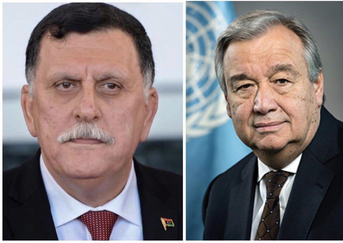محادثة هاتفية بين رئيس المجلس الرئاسي والأمين العام للأمم المتحدة facebook.com/16736175528956…