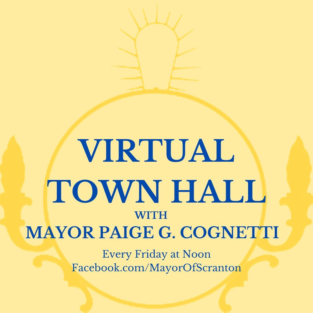 Due to the holiday weekend, Mayor Cognetti will be hosting her Virtual Town Hall tomorrow, July 2nd, at noon.  Watch the live stream at https://t.co/kv8b1ve4ki Listen by phone +13017158592 PIN 85364921599# Watch on ECTV Comcast Channel 19 https://t.co/yoAgiEBFLm