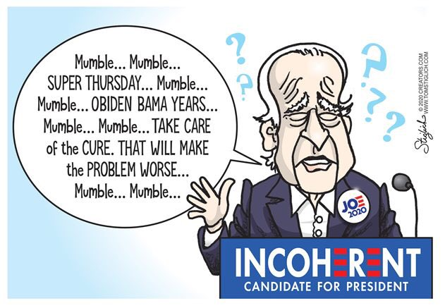 @BDemocratsfor Debunked? Lol because Joe said it didn't happen! 😂😂😂😂😂😂😂😂😂😂😂😂 Dementia Joe can't remember if he's running for Senate or president! He's real credible! 🤣🤣🤣🤣🤣🤣🤣🤣