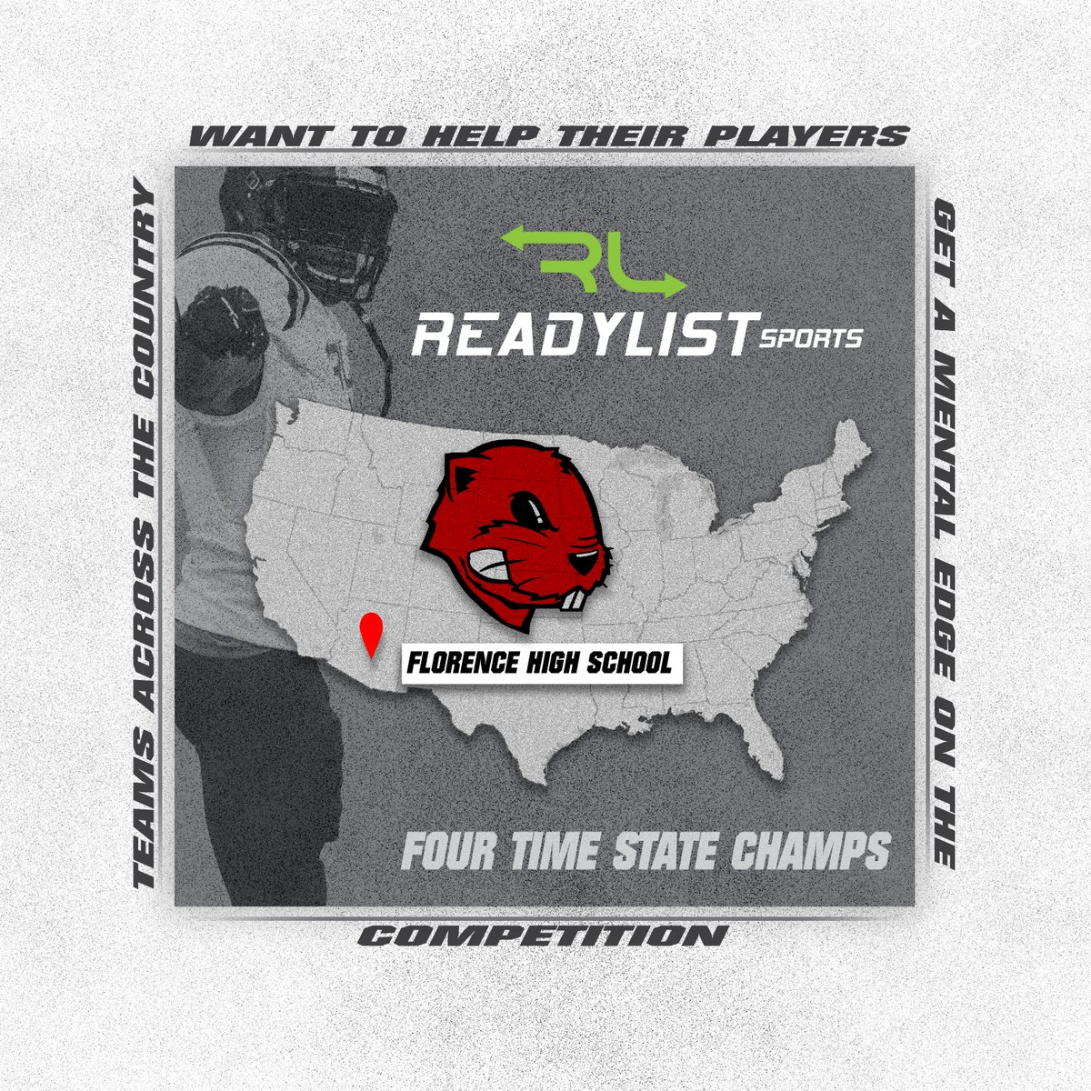 We want to welcome Florence High School to our platform. We are thrilled to have the Florence football team focus their learning using ReadyList Sports https://t.co/W3mxeSqFz1 @Fhsgopherfball #Gophers #Football #Playbook https://t.co/vi1iH1zHPn