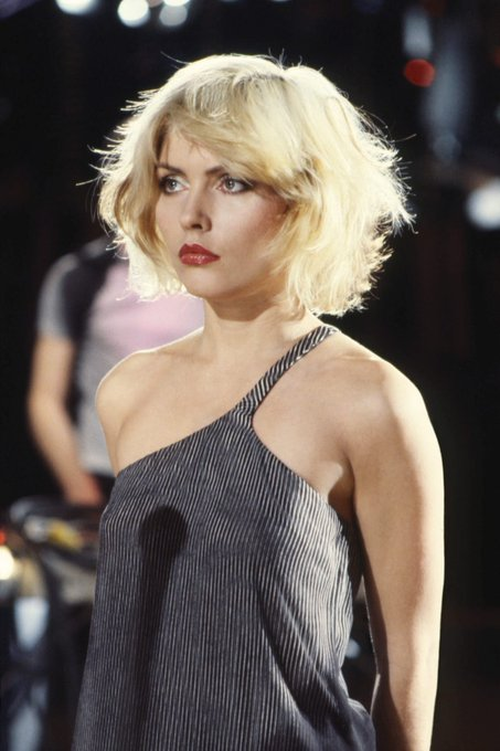 Happy Birthday to Blondie\s Deborah Harry, the baddest chick ever to rock a stage.