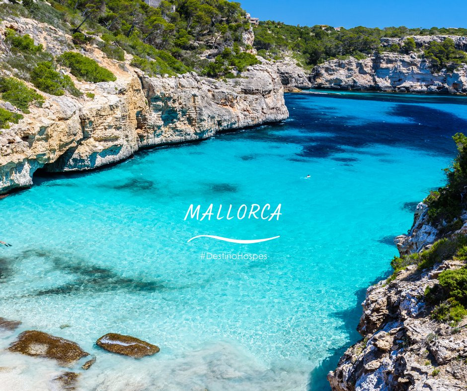 Mallorca está llena de hermosas calas de aguas cristalinas perfectas para encontrar tu descanso. Mallorca es tu destino, Mallorca es #DestinoHospes  #Mallorca #spain #turismo #mallorcaisland #mediterraneo #mediterraneoenvivo #EspacioSeguro #HospesHotels #hospesmaricelpic.twitter.com/O60QVi4SEO