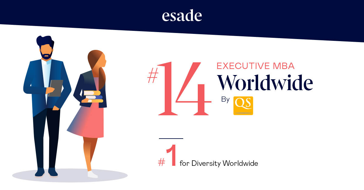 🏆 The #Esade #ExecutiveMBA #EsadeEMBA has been selected as one of the best Executive #MBA programs worldwide by the @QS ranking.  Rethink what's possible and take a leap in your career 👉 https://t.co/BIiKoH21s2 https://t.co/evW2hVRbCd