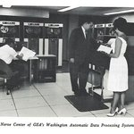 "Check out the ""nerve center"" of GSA's Washington automatic data processing system, circa 1962.   71 years later, GSA is still a leader of innovative technology programs for the federal government. Learn more at https://t.co/ZRnYQsbyW8."
