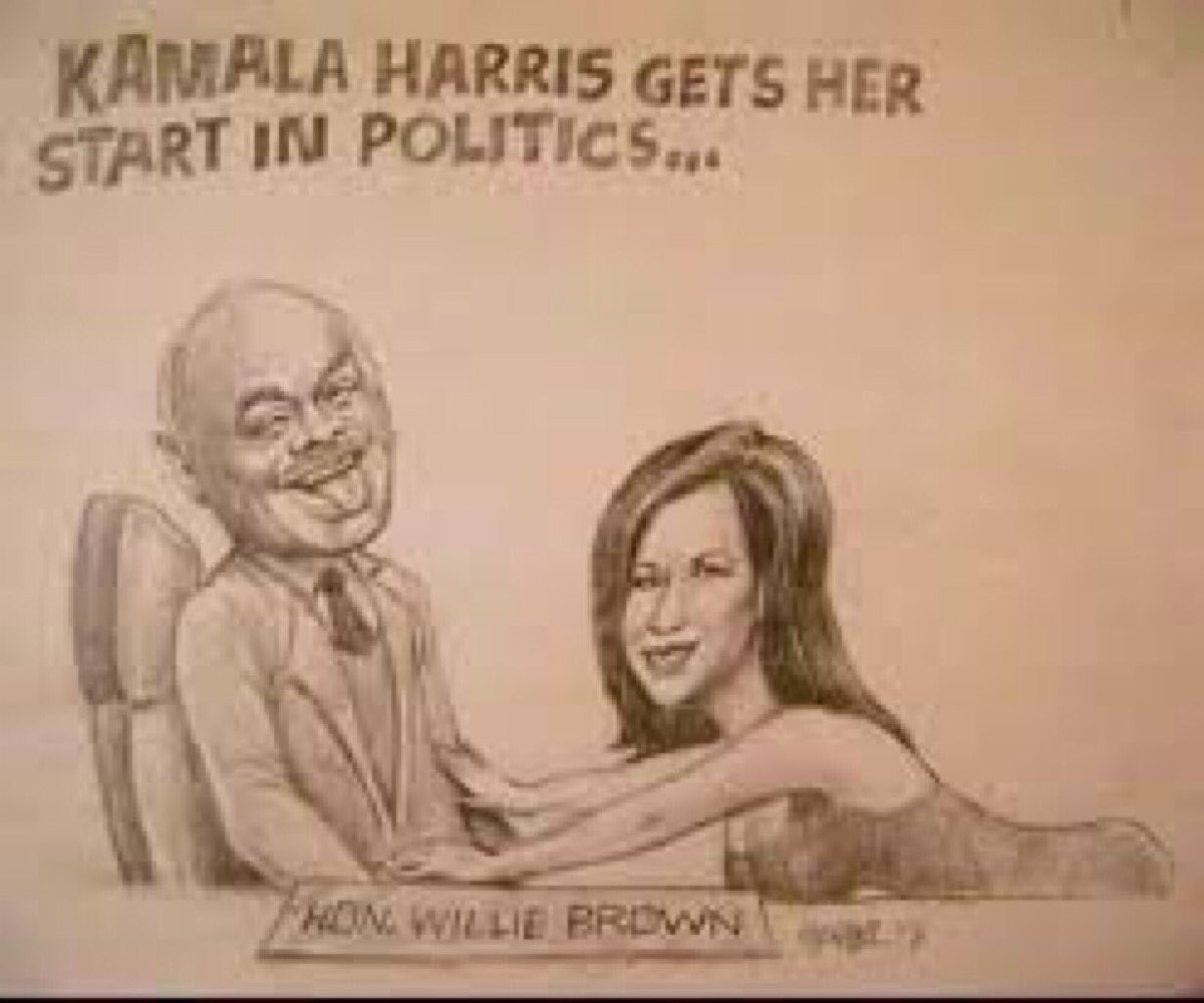 @SenKamalaHarris I can't believe you're preaching about social distancing! Things have changes!