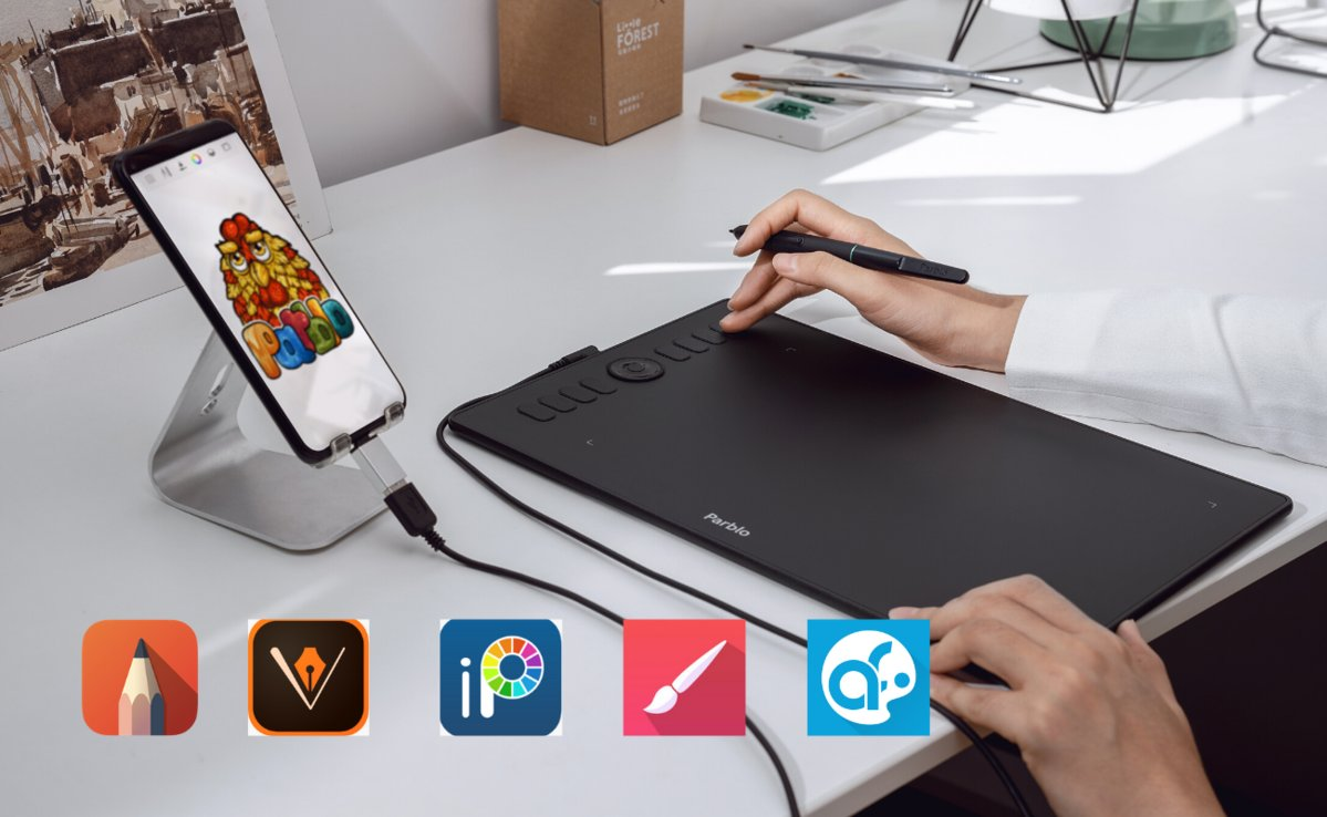 With the release of graphic tablets that support mobile devices and powerful drawing apps, digital art becomes more and more accessible. We've listed 5 powerful drawing apps for Android devices. Check the detail👉 https://t.co/6OWVBeTg7g #parblo #digitalart https://t.co/MvDiR6bIDp