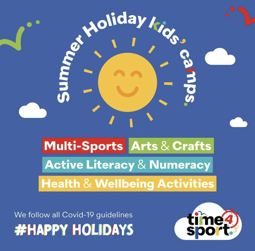 WE HAVE SOME VERY GOOD NEWS!  We can confirm that the updated government guidance on summer holiday clubs/camps has been released this afternoon.  Which now means the @Time4SportUK Summer Holiday Kids Camp booking page will go live tomorrow!  Time 4 Sport. #happyholidays <br>http://pic.twitter.com/StktQV6exS