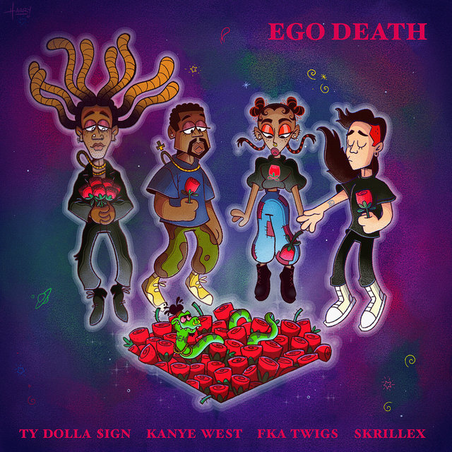Ty Dolla Sign Ego Death Lyrics ft. Kanye West, FKA twigs & Skrillex