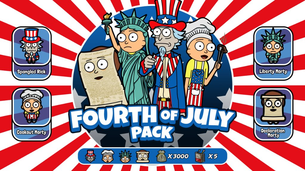 Prepare for your July 4th weekend with these new Mortys.