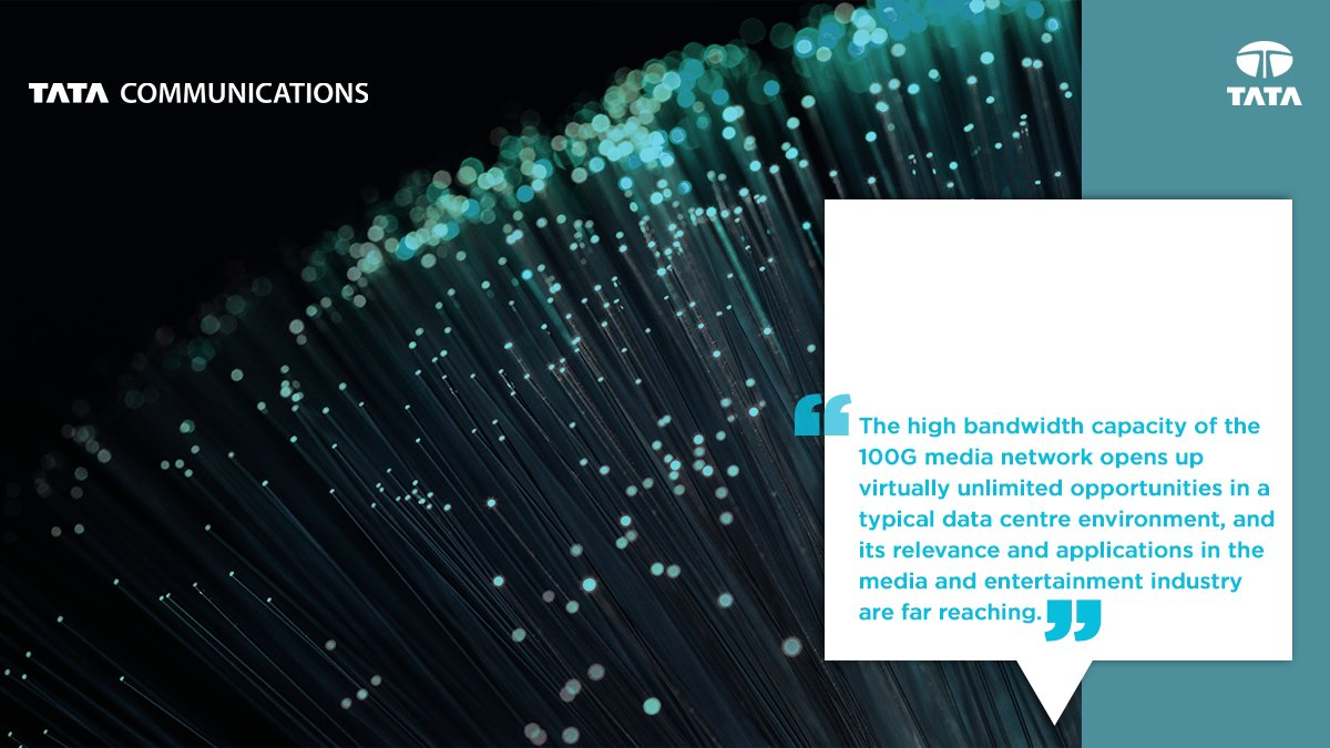 The transition towards 100GB/s network technology is in motion and is poised to outsell 10 GB/s networks soon. How will content providers benefit with a 100G media backbone? Find out in this whitepaper: https://t.co/pnkvE2ez06 https://t.co/cKtVvsz2F3