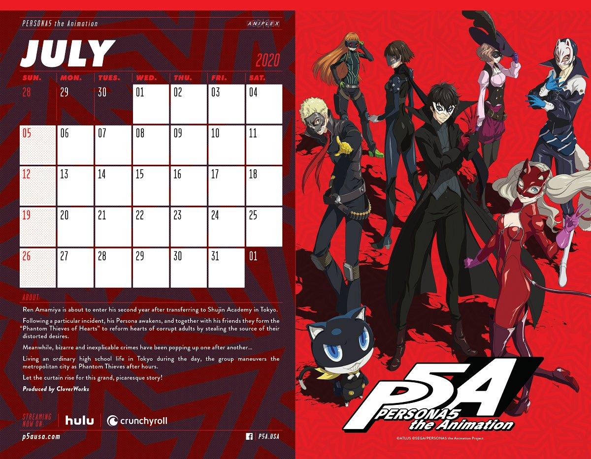 Persona 5 The Animation English Dub Hulu
