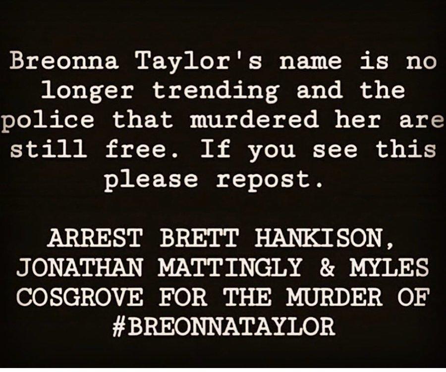 #BreonnaTaylor https://t.co/q2tcvOQrri