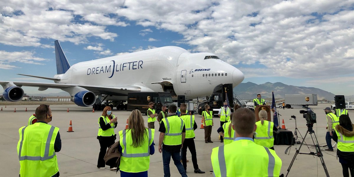 We transported half a million masks to Utah for teachers and students as they prepare to safely go #BackToSchool. We're grateful for all educators who are guiding tomorrow's leaders. Thanks to our partners @GovHerbert, @cotopaxi & @UPSAirlines. Learn more:  https:// bit.ly/31zOH9l    <br>http://pic.twitter.com/9XXwZlRuQI