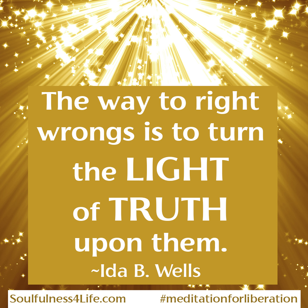 """SOULfirmation: """"ILLUMINATE TRUTH."""" >>>SoulQuestions: What truths will you bring to light? Are YOU willing to see things in a new light?   https://t.co/tcYjzPmc37   #WednesdayWisdom #inspirationalquotes #mindfulness #truth #liberation #justice #enlightenment https://t.co/g268JqcegH"""