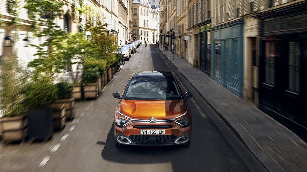 Opën the road! Introducing the latest Citroën: New Citroën ë-C4 - 100% ëlectric featuring Suspension with Progressive Hydraulic Cushions®⚡ Also available in petrol or Diesel. Discover it now: https://t.co/eenfduJkMr https://t.co/MYXxXq3vXy