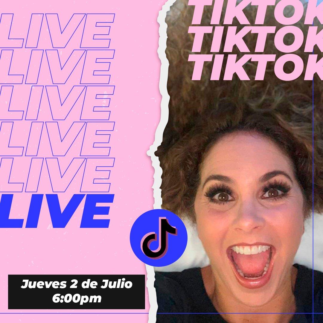 Mis adorad@s, para estrenar oficialmente mi cuenta de TikTok, los espero este jueves en un live ahí a las 6pm hora de México! 🤗 ahí nos vemos, soy arroba Lucero.Mexico #LuceroTikTok #LuceroLiveEnTikTok  https://t.co/PcYUodpMwU https://t.co/FL7gww6BLl