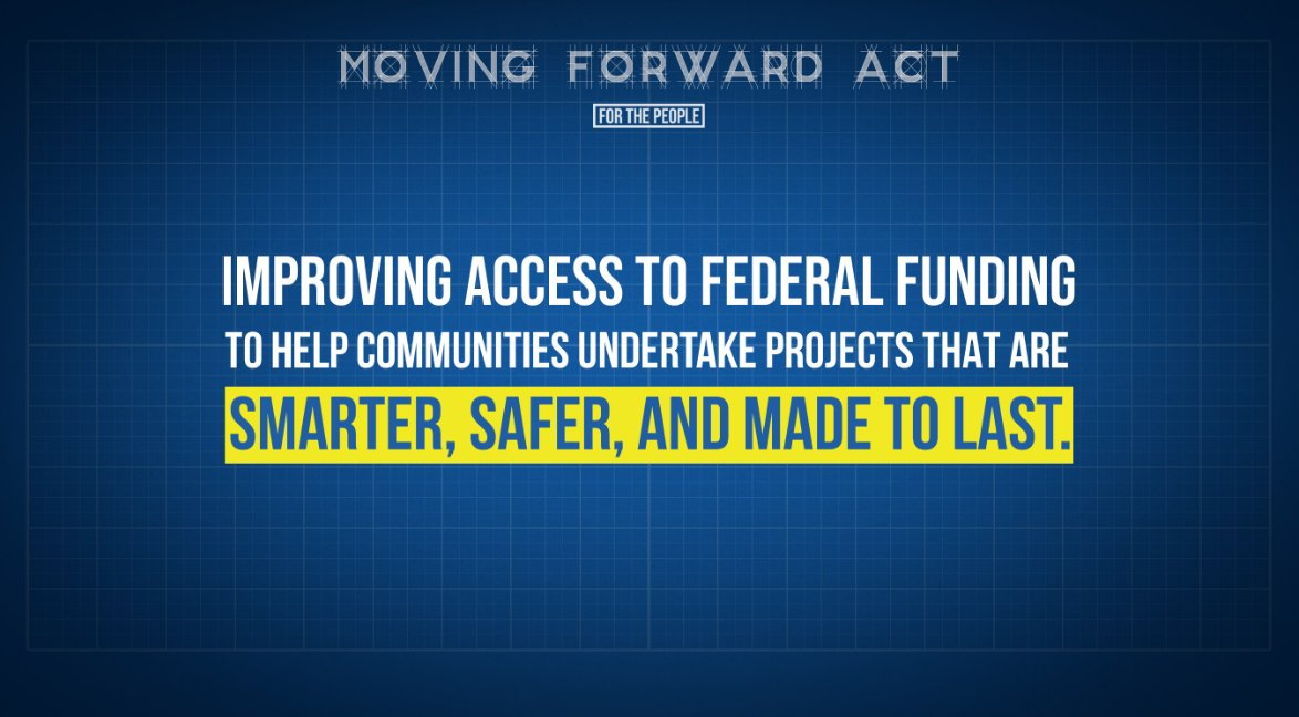 PASSED: The #MovingForward Act.  This sweeping infrastructure bill would invest in rural broadband, schools, roads, public transit and hospitals across the nation, and create millions of jobs for working families in the process. https://t.co/wFfAIVJiOh https://t.co/feWEsAQJqW