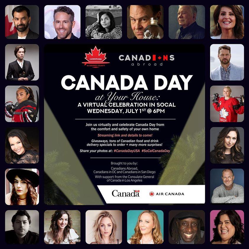 Quelle journée. Quel pays.  Et ce n'est pas fini.  Restez à l'écoute pour la «Fête du Canada chez vous»  à 18 h.  Salutations des meilleurs talents, musique, comédie et plus encore. https://t.co/r2v0Oz0qt8  #CanadaDayUSA https://t.co/Wlvy78CbyV
