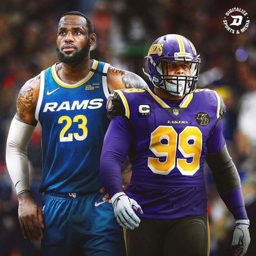 If NBA and NFL teams swapped jerseys 🔥  (via Digitalize/Instagram) https://t.co/qMJlvYMSiS